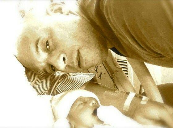 Vin Diesel with his third child