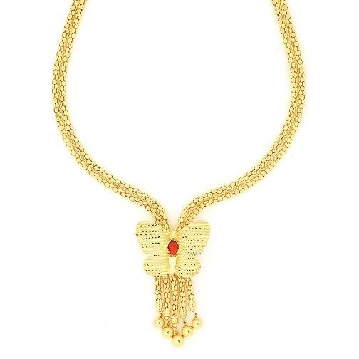 15 Modern Gold Necklace Designs In 30 Grams Styles At Life Gold Necklace Designs Necklace Designs Gold Necklace