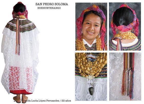 Traje típico de San Pedro Soloma, Huehuetenango
