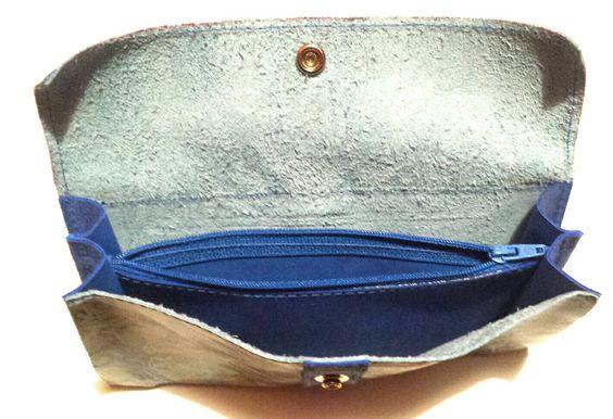 cartera cacher de piel leather vacuno. www.cueroarte.com