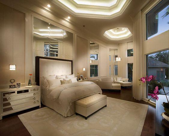 Luxury Master Suite Future Home Stuff Pinterest Dormitorios Color Crema Grandes