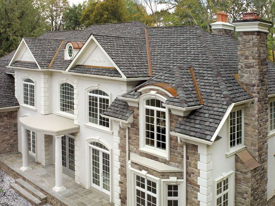 Best Williamsburg Slate Gaf Designer Roof Shingles Home 640 x 480
