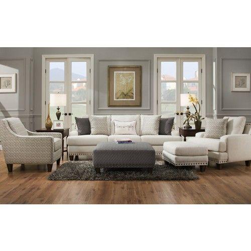 Franklin Furniture Monty 5 Piece Living Room Set 864 5set