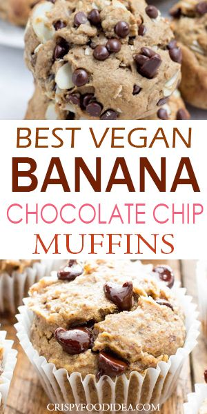 banana chocolate chips muffins