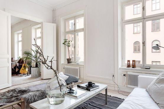 Post: El dormitorio típico de muchos nórdicos ----> estilo nordico, minimalismo decoracion en blanco decoracion, decoracion dormitorios