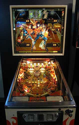 kiss pinball machine for sale