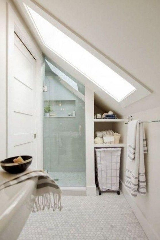 30 Modern Attic Bathroom Design Ideas Tiny House Bathroom Tiny