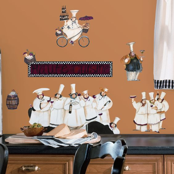 Found it at Wayfair - Room Mates Deco 15 Piece Chefs Wall Decal