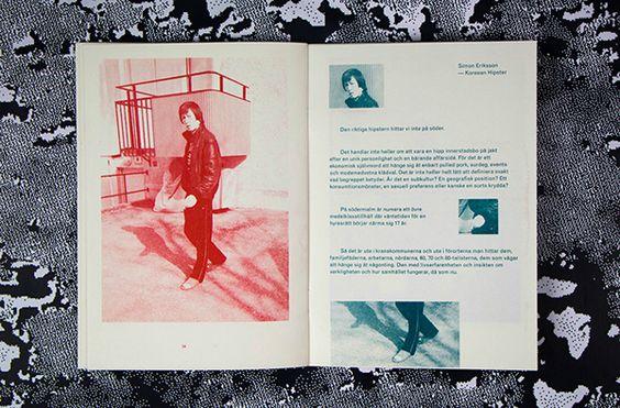 Derivé - a typographic experiment by Frans Wiklund, Carl Herner, Mattias Green via Behance