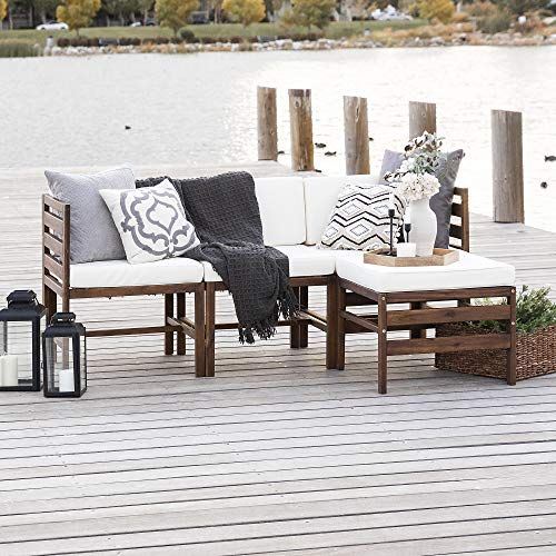 Walker Edison In 2021 Wood Patio Cheap Outdoor Furniture Deck Furniture Layout