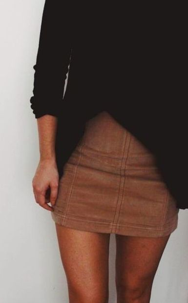 free people thermals + mini skirts
