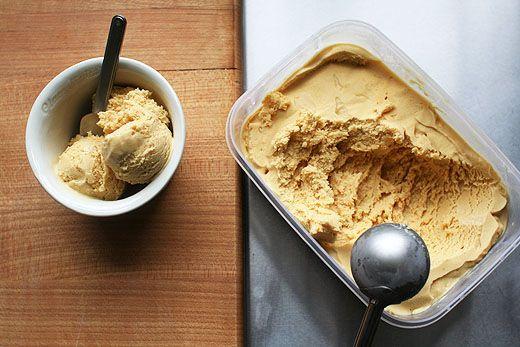 Burnt Orange Ice Cream