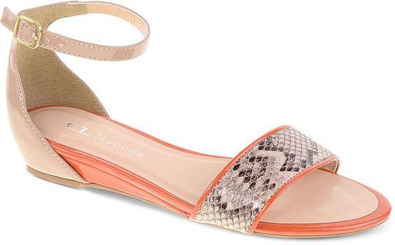 Pin for Later: 50 paires de sandales à moins de 50 € ! Sandales Chinese Laundry Chinese Laundry Serafina Demi Wedge Sandals ($49)