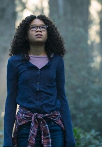 Storm Reid As Meg In A Wrinkle In Time Filmes Shows Escola