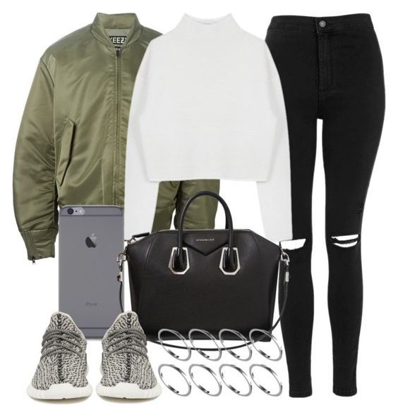 """Untitled #2728"" by mollyk99 ❤ liked on Polyvore featuring adidas Originals, Topshop, Dion Lee, Givenchy and ASOS"