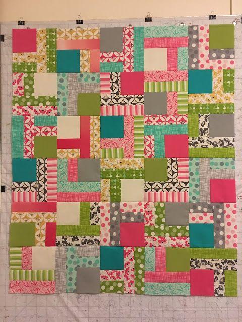 Jelly Roll Twist pattern from Fat Quarter Shop