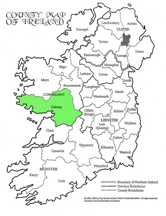 Image Result For Tyrone County Ireland Map