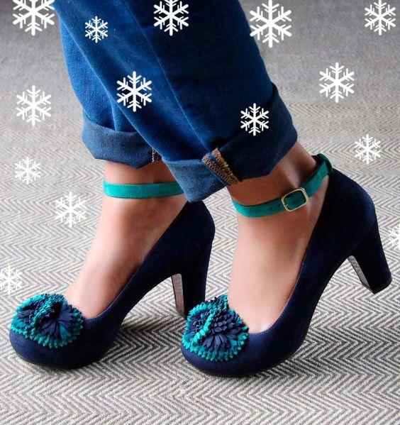 SAMBUCA NUIT TURQUOISE :: SHOES :: CHIE MIHARA SHOP ONLINE | Moda ...