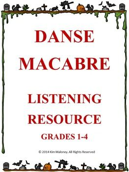 Music Listening!  DANSE MACABRE PowerPoint with Audio Clips !  ♫ CLICK through to preview or save for later!  ♫