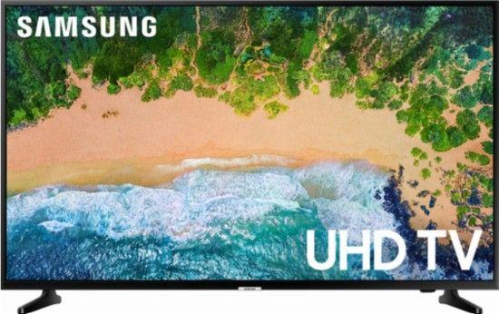 Samsung 50 Class Led Nu6900 Series 2160p Smart 4k Uhd Tv With Hdr Un50nu6900fxza Uhd Tv Samsung Tvs Samsung Smart Tv