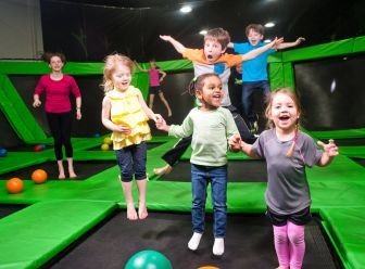 former nfl teammates open columbia trampoline park columbia md patch