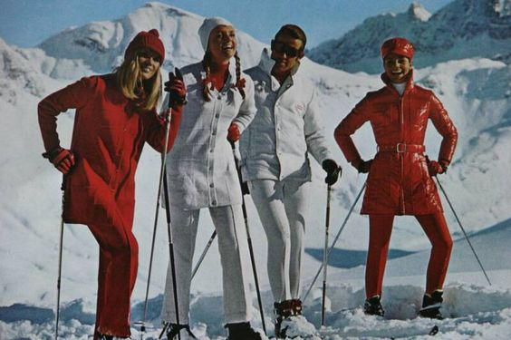 vintage Anba ski clothing