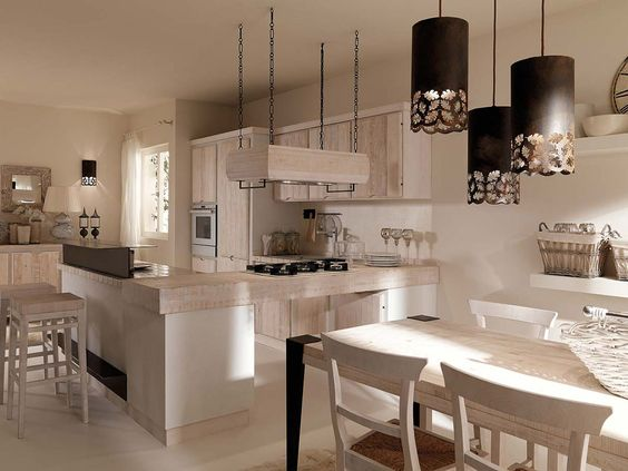 Crete, Cucina and Home design on Pinterest