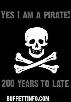 Yes I Am A Pirate ~ Jimmy Buffett