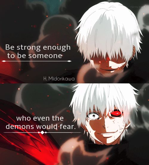 Saying Quotes About Sadness: Be Strong Enough To Be Someone,who Even The Demons Would