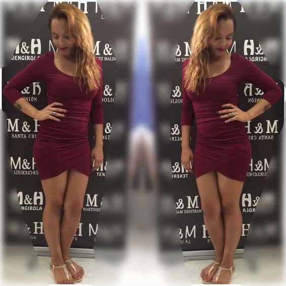 Vestido tinto