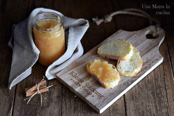 Confettura di mele cotogne e cannella