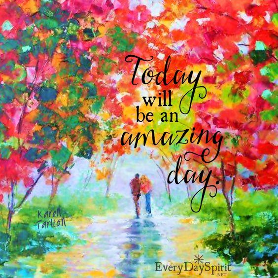 Wake with gratitude! See the app of beautiful wallpapers at ~ www.everydayspirit.net xo #encouragement #gratitude