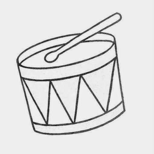 Maestra De Infantil Dibujos Grandes Para Colorear Por Ninos De 3 Anos Notas Musicales Dibujos Peppa Pig Para Colorear Instrumentos Caseros