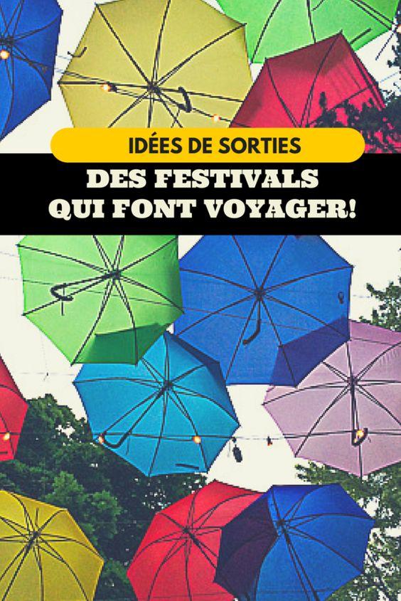 Idées de sortie : des festivals qui voyagent!  Pourquoi ne pas visiter le Mondial des Cultures de Drummondville au Centre-du-Québec ou Haiti en folie à Montréal pour voyager sans quitter le pays!