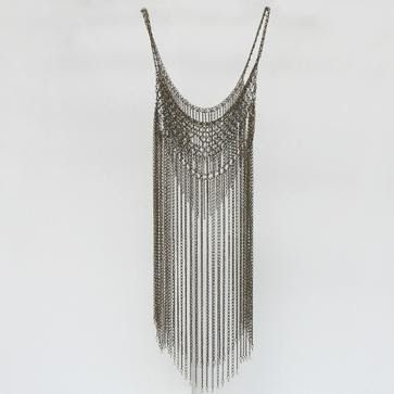 Chainmaille dress, now that's how ya hoola