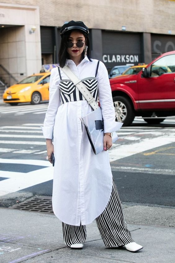 Best Street Style From New York Fashion Week - NYFW SS18 Street Style
