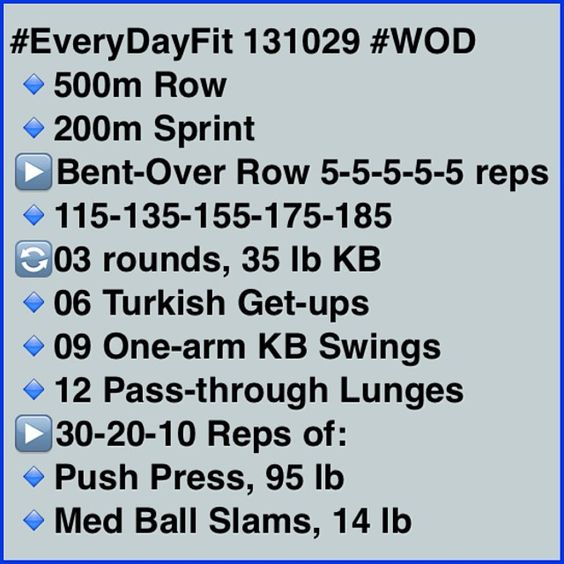 I do like the general set-up of this: Warm-up Pure Strength Support Strength Finisher!