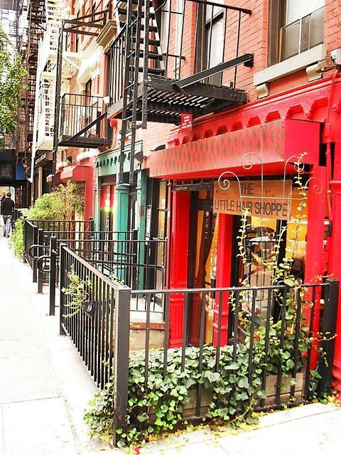 Greenwich Village. On adore !