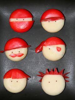 Cute Food For Kids?: Babybel Cheese Boys