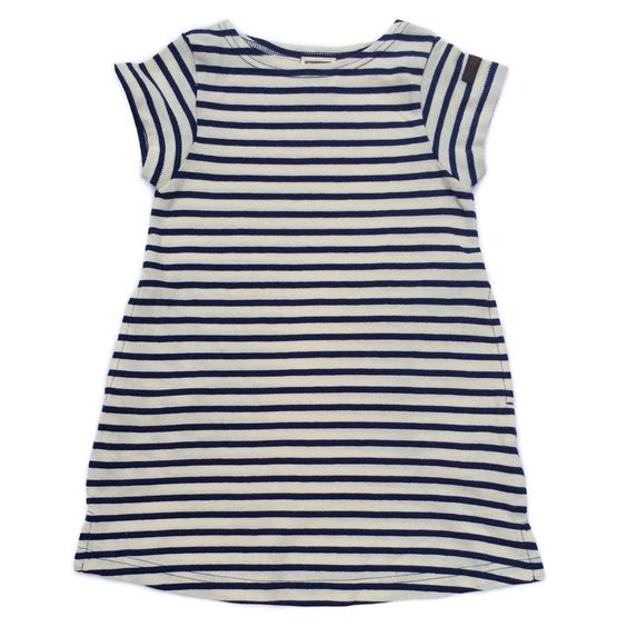 Striped Sundress - Navy Blue