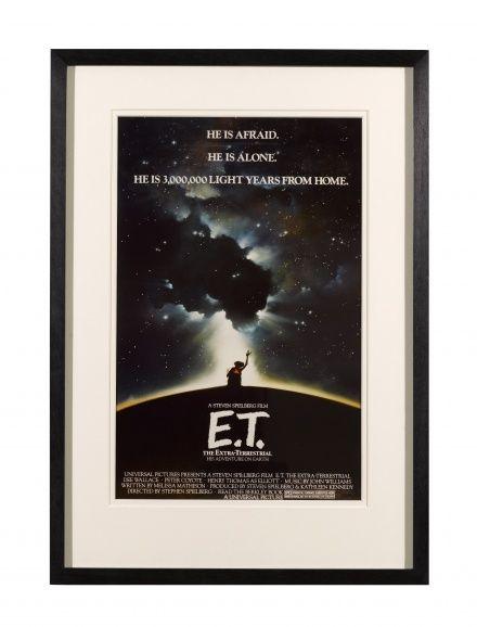 Original E.T. movie poster (1982)
