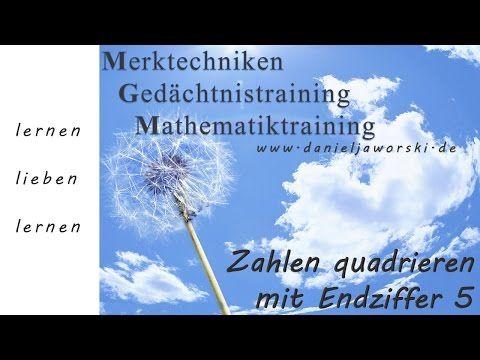Vedische Mathematik Kassel - quadrieren von Zahlen mit Endziffer 5 - YouTube