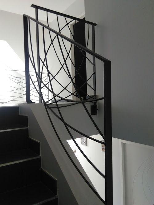 Garde Corps, Rambardes d\'escaliers, Ballustrades, Métal, Design ...