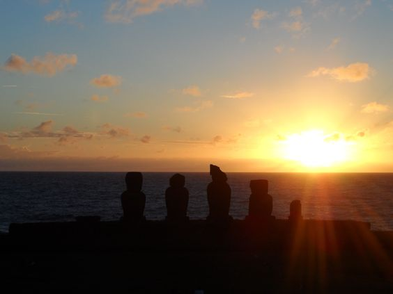 Osterinsel Sunset www.reiseinspiration.ch Ideen die beflügeln!