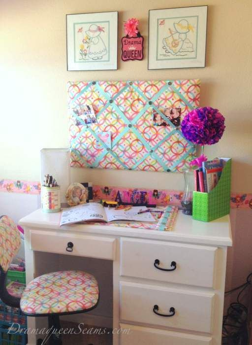these cute diy desk accessories message board blotter