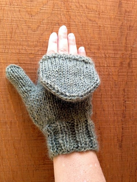 Knitting Pattern For Flip Top Mittens : Ravelry: Mitts Flip-Flop Flip Top Mittens pattern by MittsMittens. Cro...