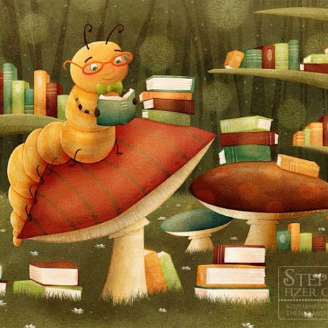books.quenalbertini: Autumn reading by Stephanie Fizer   Pinzellades al món