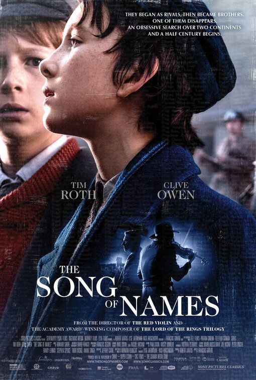 The Song Of Names In 2020 Movies To Watch Free Songs Tv Shows