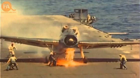 Tagged: WWII Footage | Extraordinary Carrier Landings: Restored Color WWII Footagehttp://worldwarwings.com/extraordinary-carrier-landings-restored-color-wwii-footage