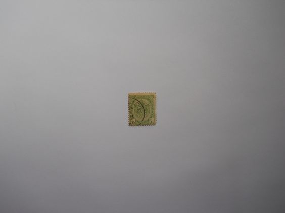 Poste Rijen 5c Belgique Belgie Green Stamp